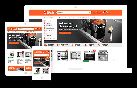 Design responsive de magazin online