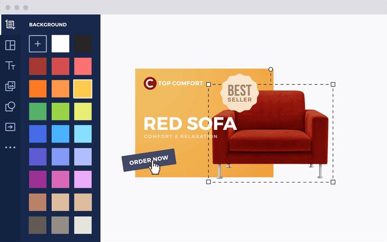 Tool pentru realizare bannere web