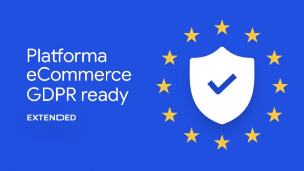 Extended – platforma eCommerce GDPR compliant