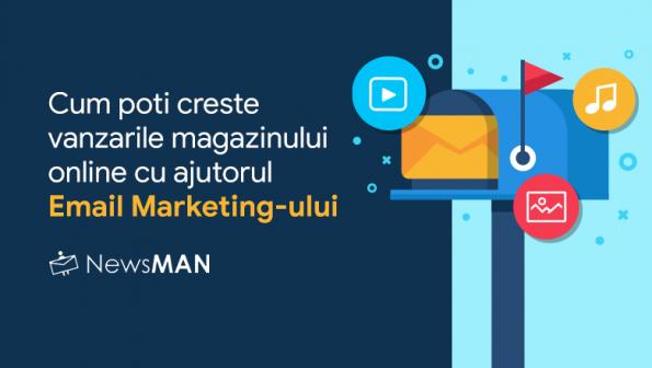 Cum sa cresti vanzarile in magazinul online cu o strategie eficienta de email marketing